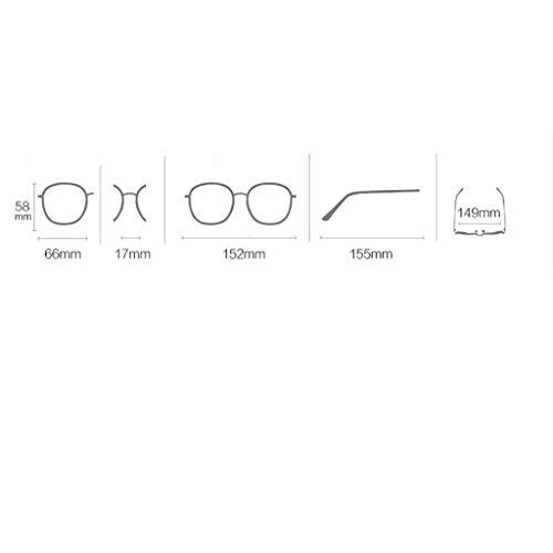 D Gafas Deporte de Hombre HD Light polarizadas Libre Metal Color B Gafas Aire Sol al Metallic Lens para Frame de Ultra xXWSxRqw