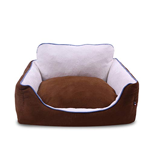 Brown XSMSFCL Pet dog bed   Dog bed and cat mattress pet bed, pet bed for joint relief and sleep improvement  (multiple sizes, multiple colors to choose from)
