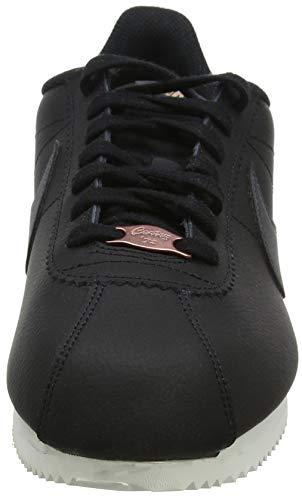 Bronze mtlc phantom Gimnasia Para 001 Wmns Nike Cortez Leather De Negro Classic Red anthracite black Mujer Zapatillas 46fwSqA7