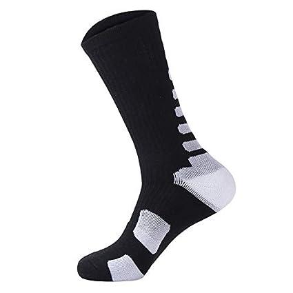Yiwa Adults Children Roller Skates Socks Thicken Lengthen Anti-slip Sweat Breathable Soft Socks