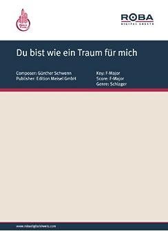 du bist wie ein traum f r mich german edition kindle edition by peter schaeffers will. Black Bedroom Furniture Sets. Home Design Ideas