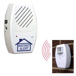 Wireless Instant Alert, Cars People, Diveway, As Seen on TV Alert Indoor Receiver