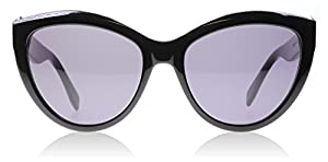 Alexander McQueen 001 Black 0003S Cats Eyes Sunglasses Lens Category 3