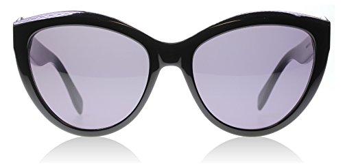 Alexander McQueen 001 Black 0003S Cats Eyes Sunglasses Lens Category - Mcqueen Eyewear