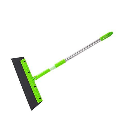 Multi-Function Telescopic Brush Magic Broom Sweeper Dust Hair Bathroom Wiper Broom Rotate Connector Rubber Tool -