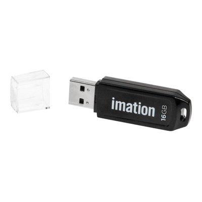 Classic USB 2.0 Flash Drive, 16GB, Black