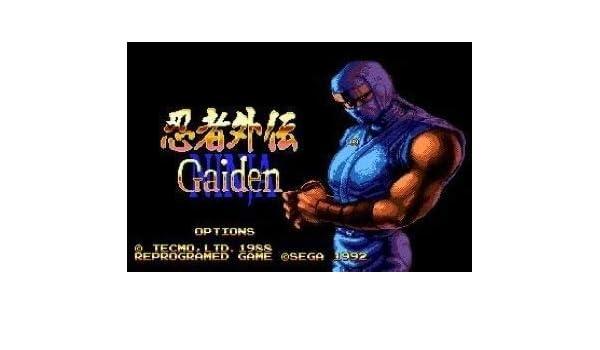 Amazon.com: Value☆Smart☆Toys - Ninja Gaiden 16 bit MD Game ...