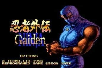 Value★Smart★Toys - Ninja Gaiden 16 bit MD Game Card for Sega Mega Drive for Genesis