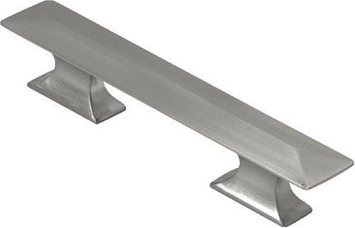 Bungalow Bar - Hickory Hardware P2153-SN 3-Inch Bungalow Pull, Satin Nickel