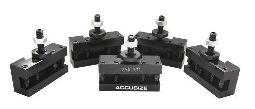 AccusizeTools - 5 Pcs of CXA Turing and Facing Holder, Quick Change Tool Holder, - Holder Facing