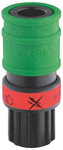 Faucet Quick Coupler - GROHE AMERICA 46315000 Quick Coupling, Green