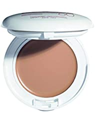 Eau Thermale Avene High Protection Beige Tinted Compact, Broad Spectrum SPF 50+, UVA/UVB Blue Light Protection, Water Resistant, Non-Greasy, 0.35 oz.