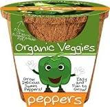 Grow Organic Peppers - DuneCraft Organic Vegetable Pot - Sweet Pepper Garden