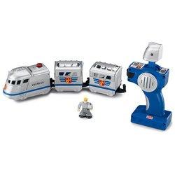 GeoTrax Rail & Road System Remote Control Set: Knight & Sir John Fisher Price Geotrax Rail