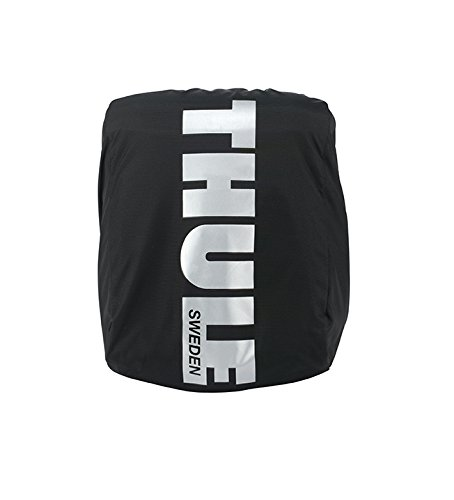 Thule Pack 'n Pedal Pannier Rain Cover, Black, Large