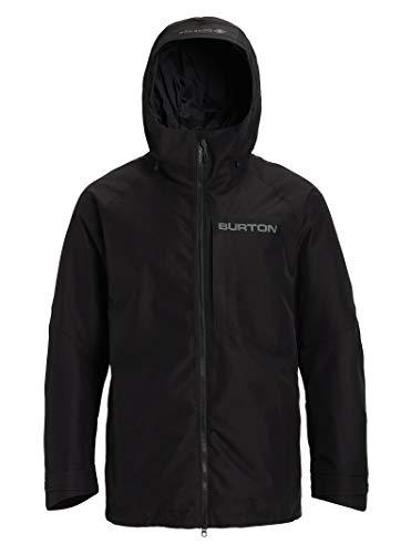 (Burton Men's Gore-Tex Radial Jacket, True Black W20, Large)