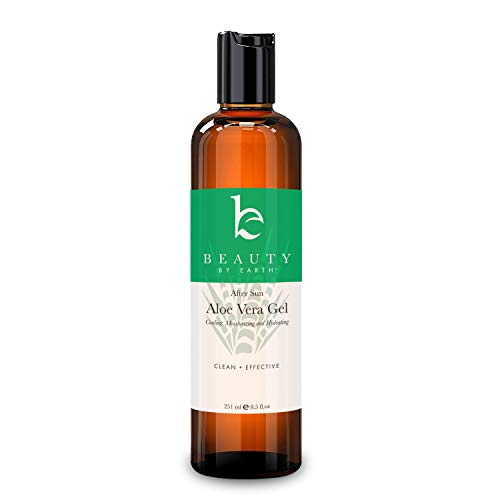 - Aloe Vera Gel - The Best After Sun Care With Organic Aloe to Moisturize and Hydrate Body and Face, Sooth Burns, Rashes, Bites, Acne, Eczema or Razor Bumps on Hair and Skin - Pure Non-Toxic (8.5oz)