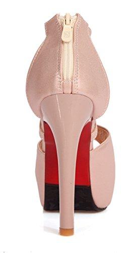 Rosa Con Tacón Ye Zapatos Mujer qzw5vBIv