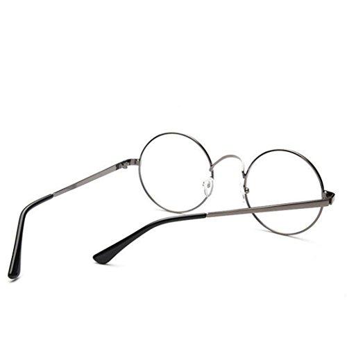 Gafas de 2018 Sol Hombres moda ❤️Xinantime de unisex Transparente metal de Moda Vasos Espejo clásico marco redondeados Gafas ❤️Verde de Sonnenbrille Mujeres Mujer Prw8Px