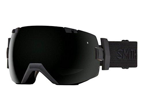 Smith Optics I/OX Adult Snowmobile Goggles Black / Black / Blackout