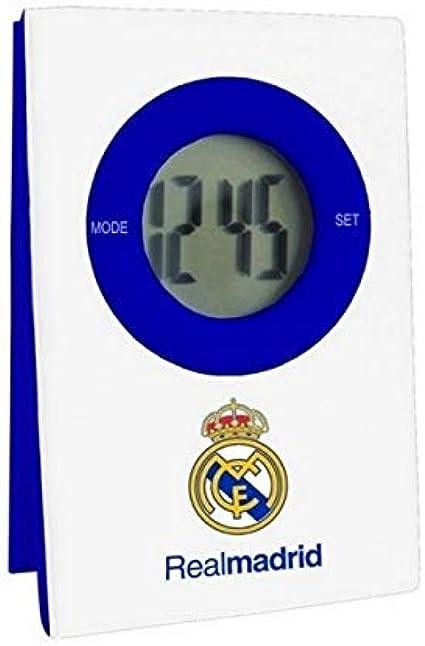 Seva Import Real Madrid Reloj, Blanco, Talla Única: Amazon.es: Deportes y aire libre
