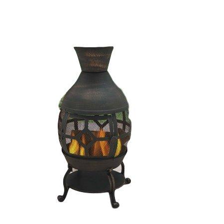 Outdoor Durable Cast Iron Antique Bronze Fire Pit