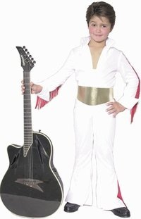 Fun Plus Child's Boy Rock Star Costume, Size Youth X-Large -