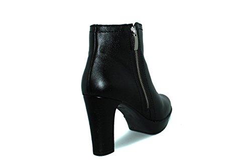 Botines con tacón de mujer Maria Jaen - modelo 1167N Negro
