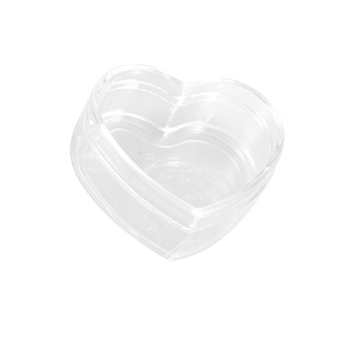 Flat Heart Mold (Tinksky Clear Plastic Acrylic Bath Bomb Mold Shells Molding Balls Fillable Christmas Tree Ornaments DIY Bath Bomb Molds (Flat Heart))