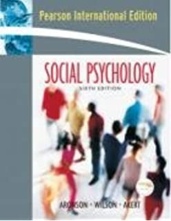 Social psychology amazon elliot aronson timothy d wilson social psychology international edition fandeluxe Choice Image