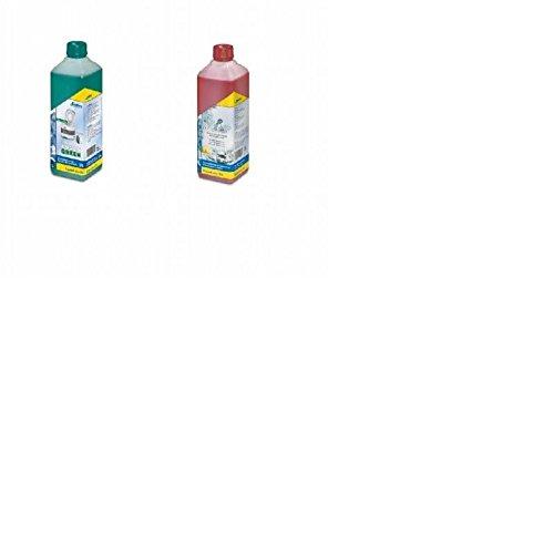 SET Enders Campingtoilette Sanitärflüssigkeit Ensan Green + Rinse