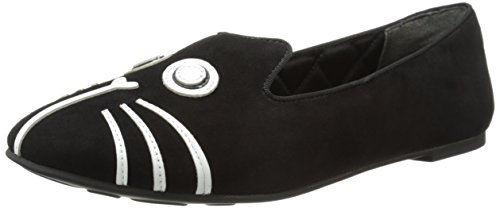 M Marc US Black 10 On Slip by Women's Rue Loafer Jacobs Marc RcPqvpOx