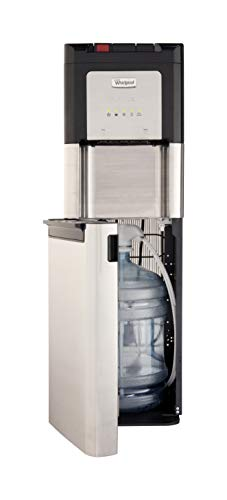 Whirlpool Self Cleaning, Hot and Cold, Stainless Bottom Load Water Cooler with LED Indicators