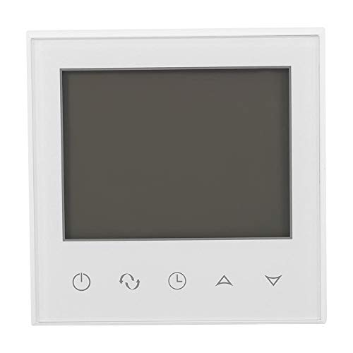Asixx Termostato Digital, Termostato Digital Programable, con Pantalla Táctil LCD, AC 230V, Termostato de...