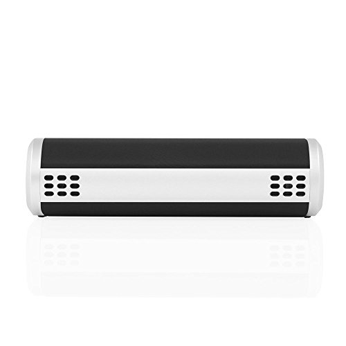 BRAVEN Bridge Bluetooth Speaker and Conferencing Device [12 Hours Playtime] 2600 mAh Power Bank - Gray / Black / Silver by Braven (Image #6)