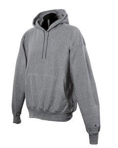 Amazon.com: Champion 12 oz. Reverse-Weave Fleece Hoodie Hoody ...