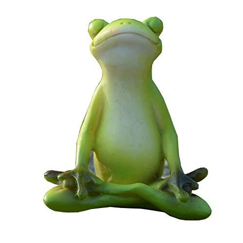 (Gemmia Frog Figurine - Meditation Frog)