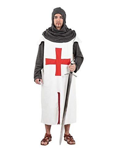 DISBACANAL Traje Cruzado Medieval Adulto - Único, L: Amazon ...