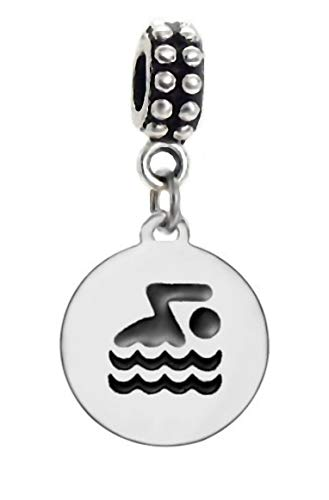 J&M Dangle Swimmer Charm for ()