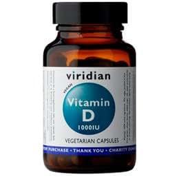 Viridian Vitamin D (Vegan) 1000iu , 90 Veg tapas