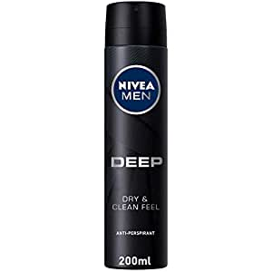NIVEA, MEN, Deodorant, Deep, Spray, 200ml