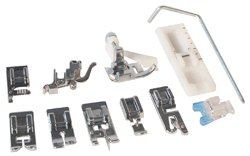 Low Shank 11 Piece Snap-on Foot kit (Brother Sewing Machine Parts compare prices)