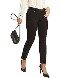 Women's Five Pocket Stretch Straight Leg Pants