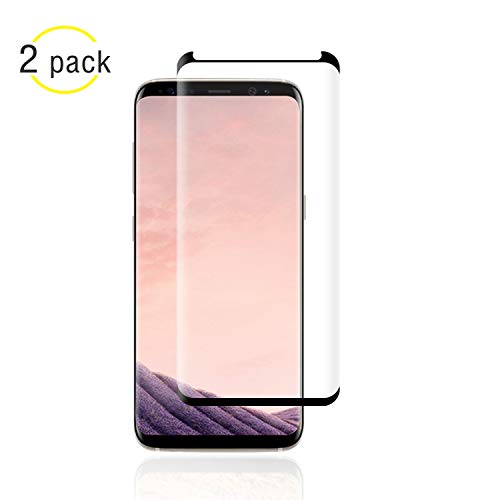[2 - Pack] For Galaxy S9 Plus Screen Protector, NiceFuse [9H Hardness][Anti-Fingerprint][Ultra-Clear][Bubble Free]...
