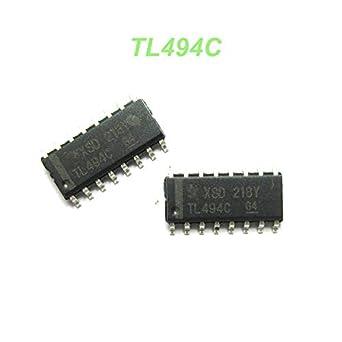10PCS TL494CPWR IC REG CTRLR PWN VM 16-TSSOP TL494 TL494C 494C TL494CP 494CP