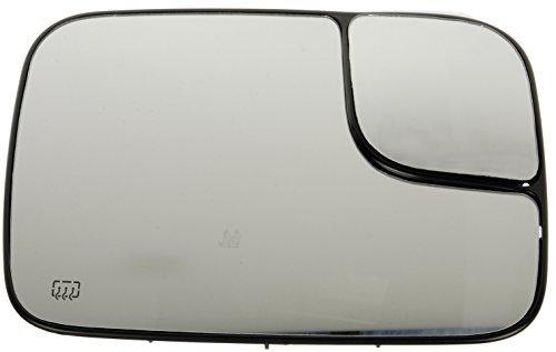 Glass 2002 Dodge Ram - Dorman 56273 Passenger Side Heated Plastic Backed Mirror Glass