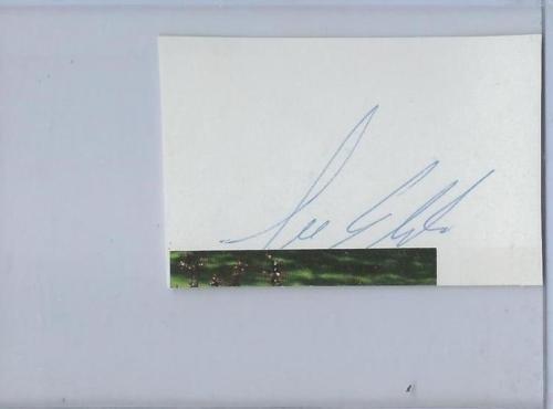 Elder Gallery (Lee Elder Signed Program Page JSA)