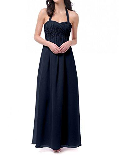 KA Beauty Mädchen Kleid Blau - Navy BZczNl