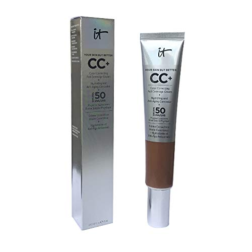 It Cosmetics Your Skin but Better CC Cream SPF 50 Supersize 2.53 Fl Oz Deep