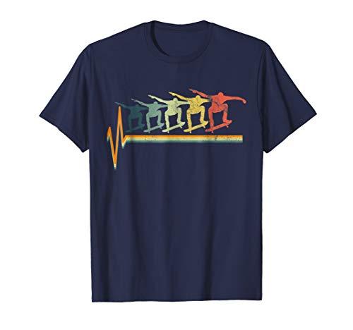 Skateboard Tshirt Skater T-Shirt Gift Tee Ollie Vintage